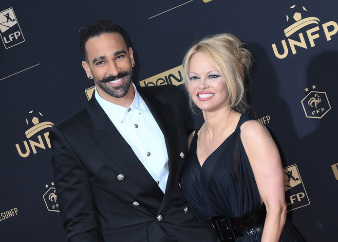 Pamela Anderson et Adil Rami sont restés deux ans ensemble avant de se séparer à la fin du mois de juin.
