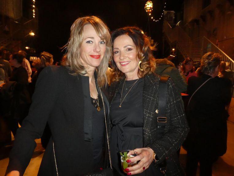Schaatscoryfee Marianne Timmer en vriendin Anne Christien van Beekhuizen (ondernemer kapsalons). Liefhebbers?