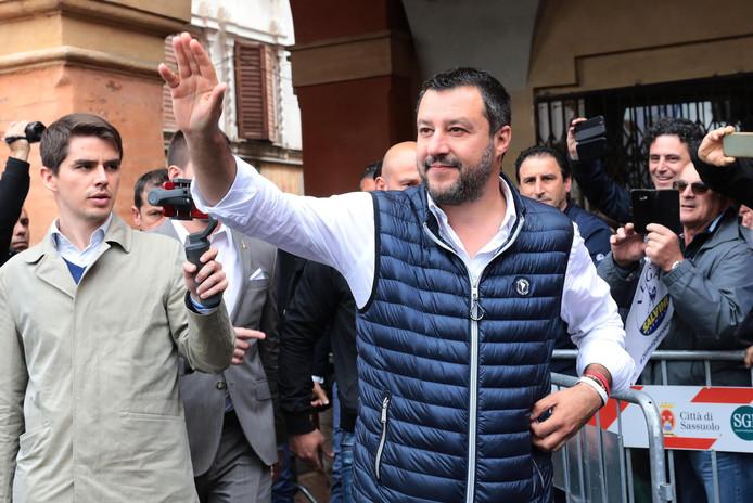 Matteo Salvini, ministre italien de l'Intérieur.