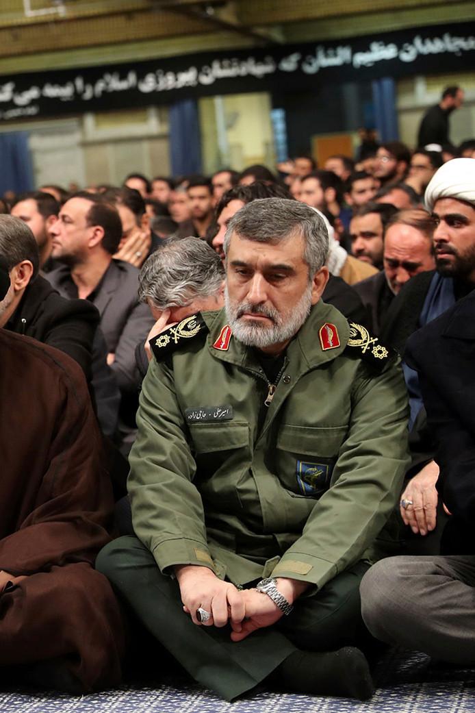 """Le général de brigade Amirali Hajizadeh endosse l'entière """"responsabilité"""" du crash."""