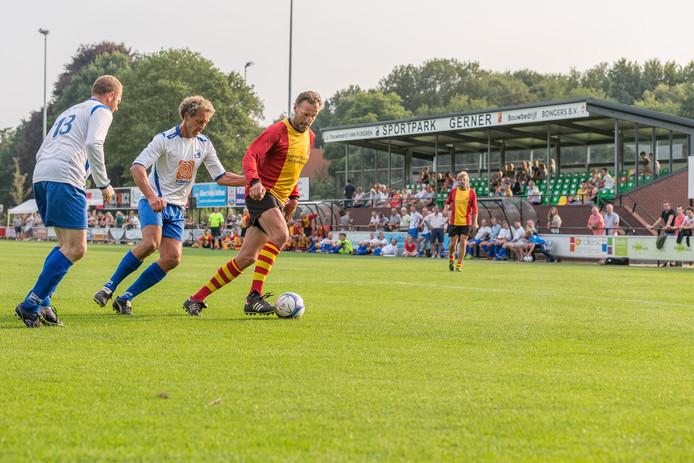 Vorig jaar kwamen de oud-elftallen van SV Dalfsen en ASC'62 al in actie in een wedstrijd ter gelegenheid van de opening van de nieuwe gezamenlijke tribune.