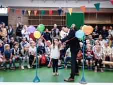 Ds Jonkersschool in Lathum begint schooljaar met een vloer waarop je springend kunt leren