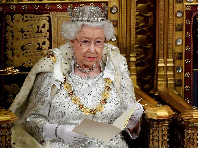 De Britse queen.