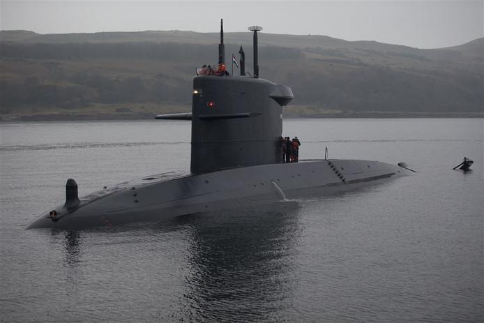 De Hr. Ms. Bruinvis is een van de huidige Nederlandse onderzeeboten die aan vervanging toe zijn.