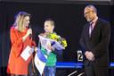 ALMELO - Sportverkiezing van Almelo. Op de foto het sporttalent Julian Slots. Hij is NL Kampioen K1 onder 44 kg. EDITIE: ALMELO FOTO: BERT KAMP BK20180126