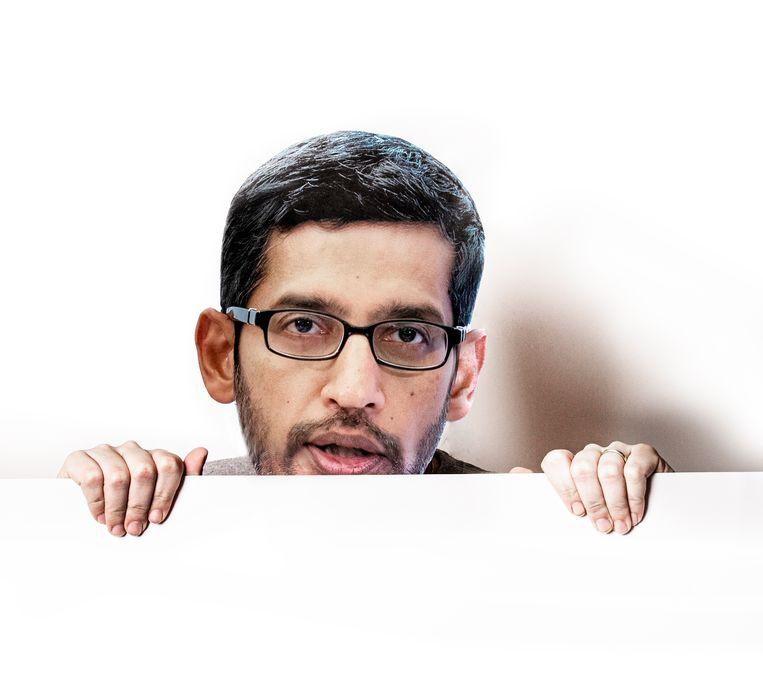 Sundar Pichai, topman van Microsoft, wil meer diversiteit binnen het bedrijf. Beeld Studio V