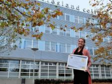 Docent Friesland College krijgt Europese prijs voor creativiteit in coronatijd