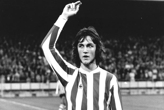 Ralf Edström in 1973 als speler van PSV