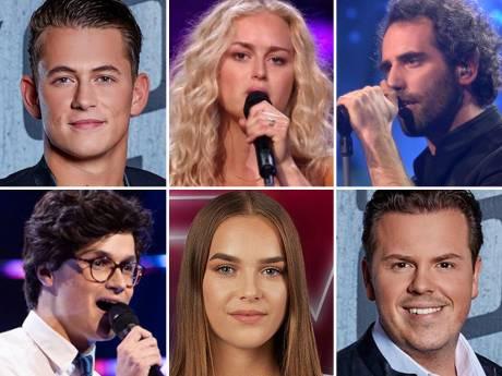 Deze zes The Voice-talenten strijden vanavond om felbegeerde finaleplek