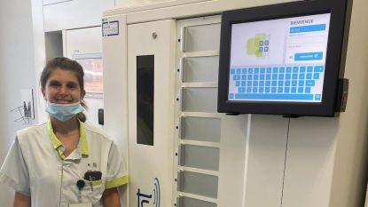 AZ Jan Portaels zet een van eerste mondmaskerautomaten in België