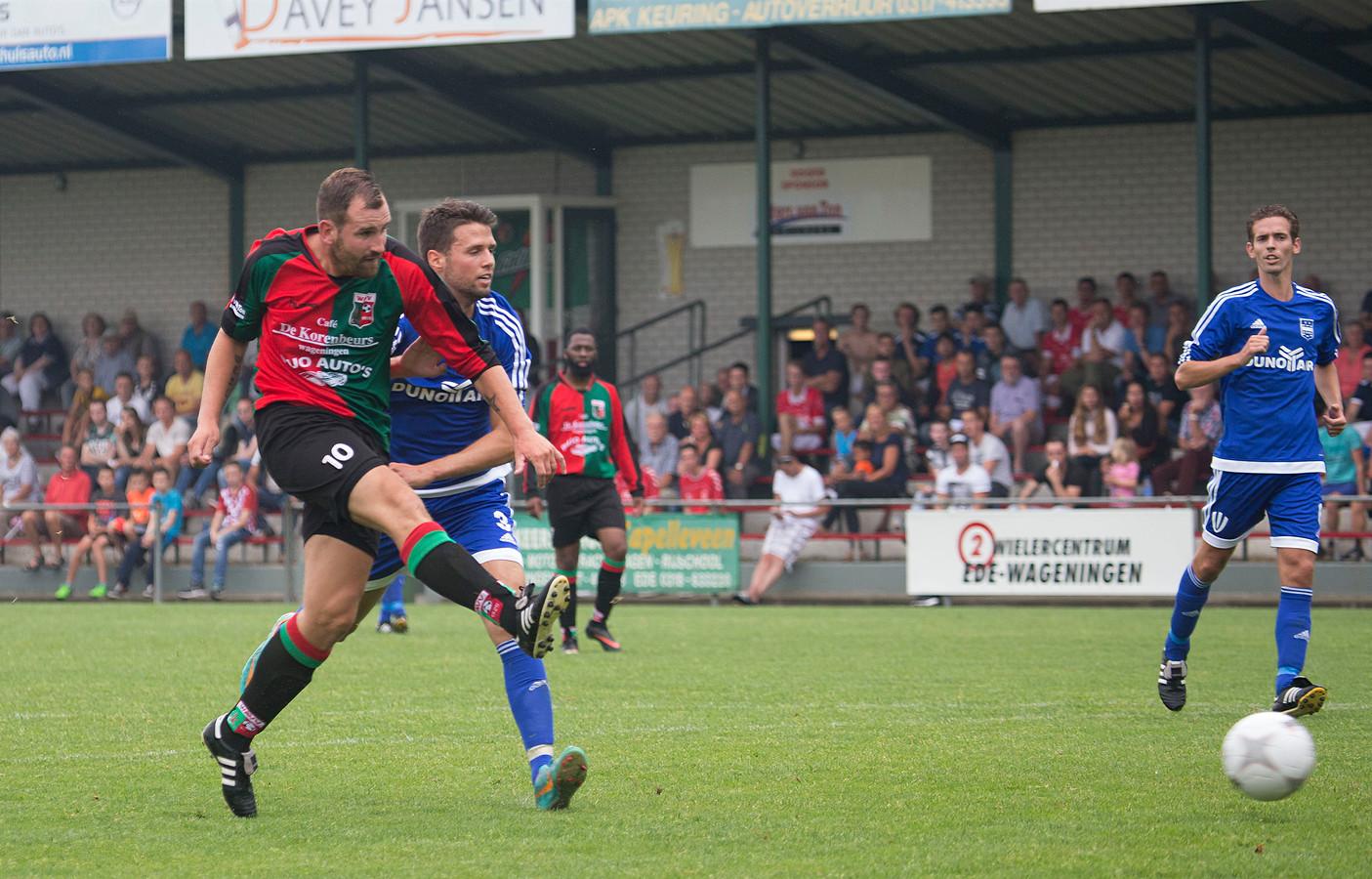 WAVV en DUNO speelden drie jaar geleden de finale om de Wageningen Cup.