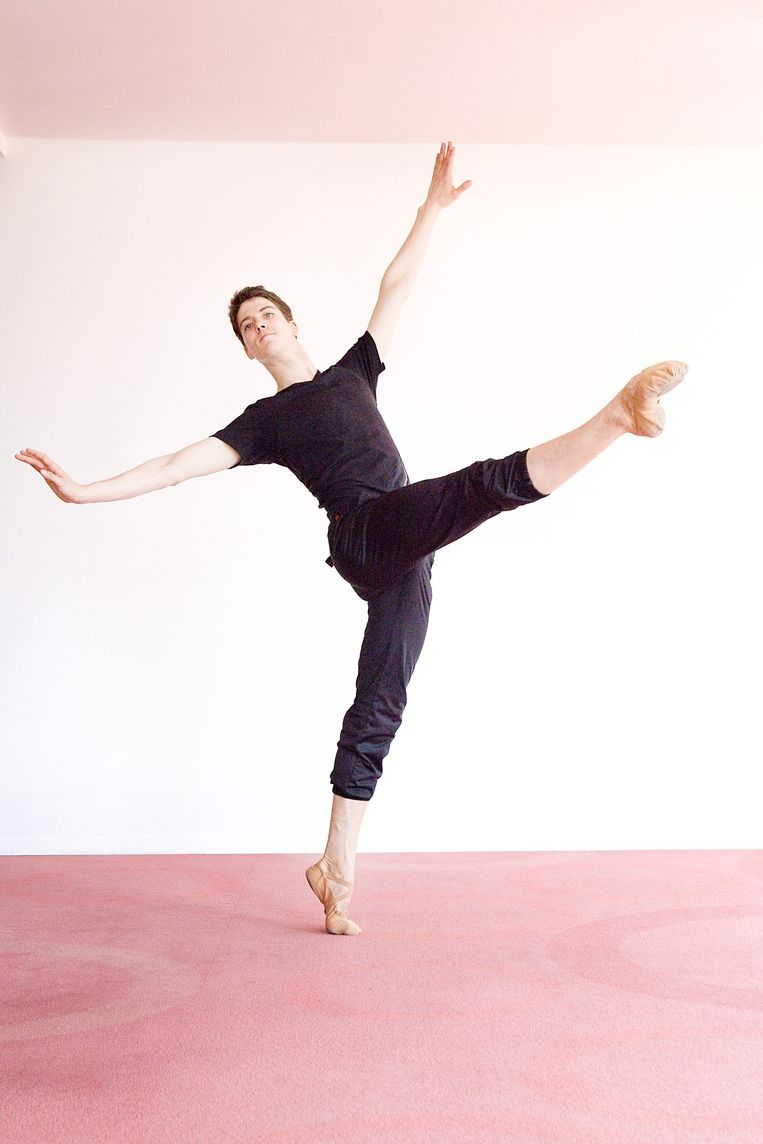 Martin ten Kortenaar van Het Nationale Ballet. Beeld Io Cooman