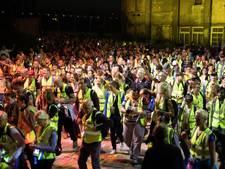 Met 1.300 man de nacht in voor de vluchtelingen; op naar Arnhem