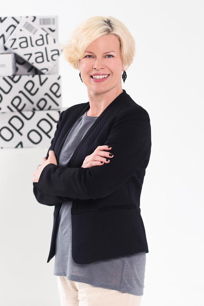 Stacia Carr leidt bij Zalando het team dat ervoor moet zorgen dat consumenten producten in de voor hen juiste maat bestellen.