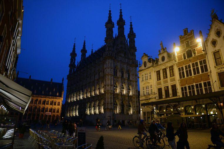 In 2008 deden de diensten van de stad Leuven het licht uit in het oude stadhuis op de Grote Markt.
