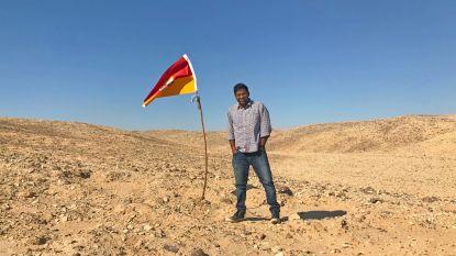 Man roept zichzelf uit tot 'koning' van ongeclaimd niemandsland