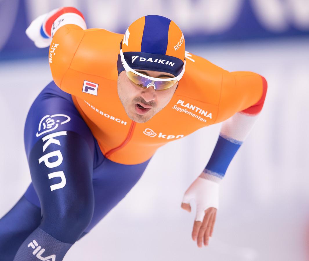 Kai Verbij eerder dit seizoen in actie.