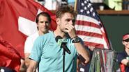 Federer wint 90ste titel in Indian Wells, tot frustratie van wenende Wawrinka die hem een 'a-hole' noemt