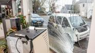 Auto belandt tegen etalage nadat chauffeur zich van pedaal vergist in Eine