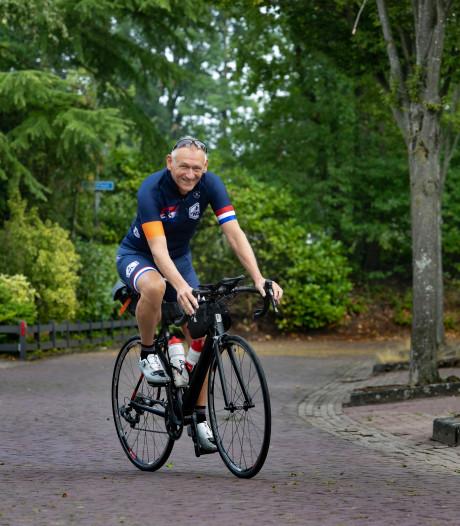 Waalrenaar Luc van Santen rijdt  monstertocht van 1219 kilometer