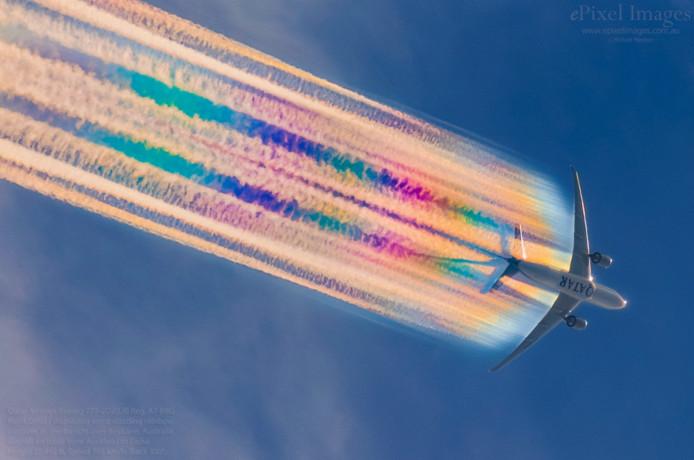Le cliché a été partagé sur la page Facebook ePixel Aerospace.