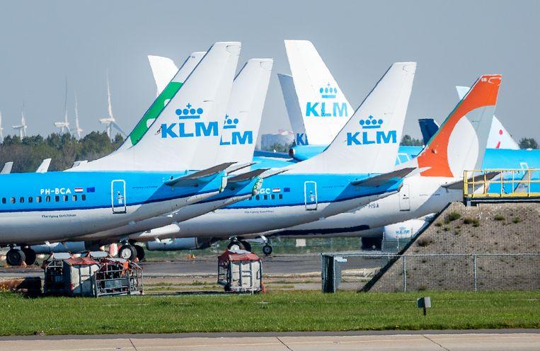 Meerdere keren per jaar vliegen wordt flink duurder, als het aan Milieudefensie ligt. Beeld ANP / REMKO DE WAAL