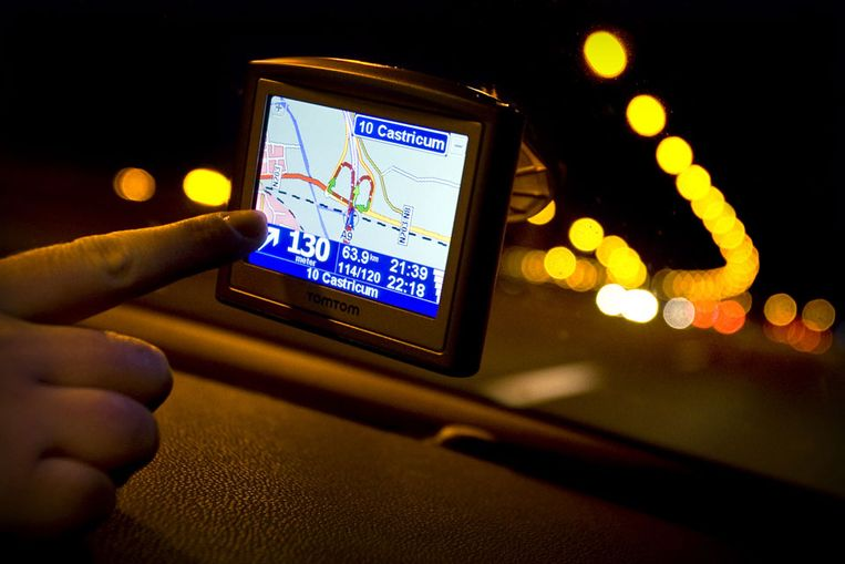 Navigatiesysteem. (ANP) Beeld