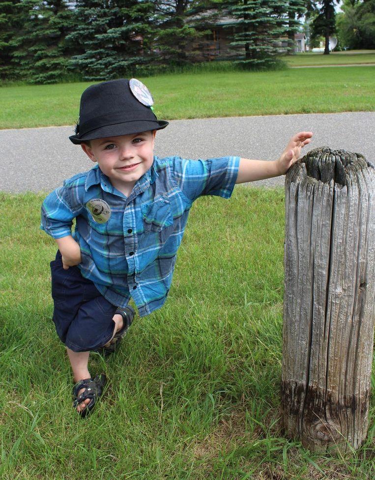 De 4-jarige Bobby Tufts. Beeld ap