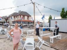 Door de coronacrisis duiken terrassen in Harderwijk op onverwachte plekken op