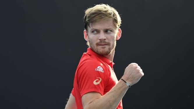 Goffin zwoegt, maar knokt zich na heupblessure en knotsgekke partij voorbij Franse vriend naar derde ronde Australian Open