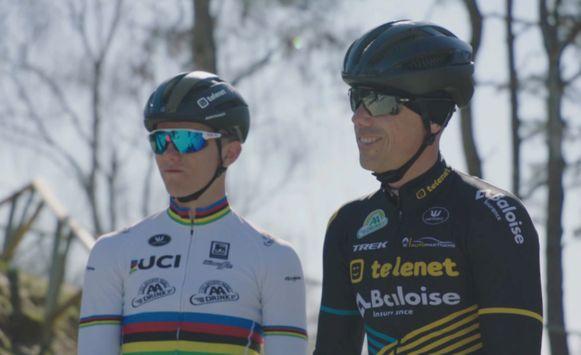 Sven Nys en Thibaut Courtois.