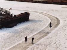 Nostalgie: zo werd in 1997  op Zwolse gracht geschaatst