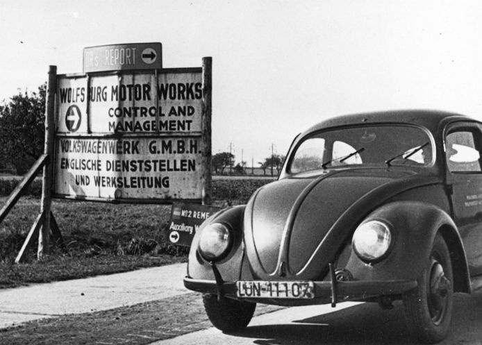 De autofabriek werd net na de oorlog door de geallieerden nieuw leven ingeblazen