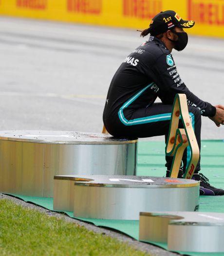 Hamilton: 'Nu op naar Hongarije waar Red Bull ook sterk is'