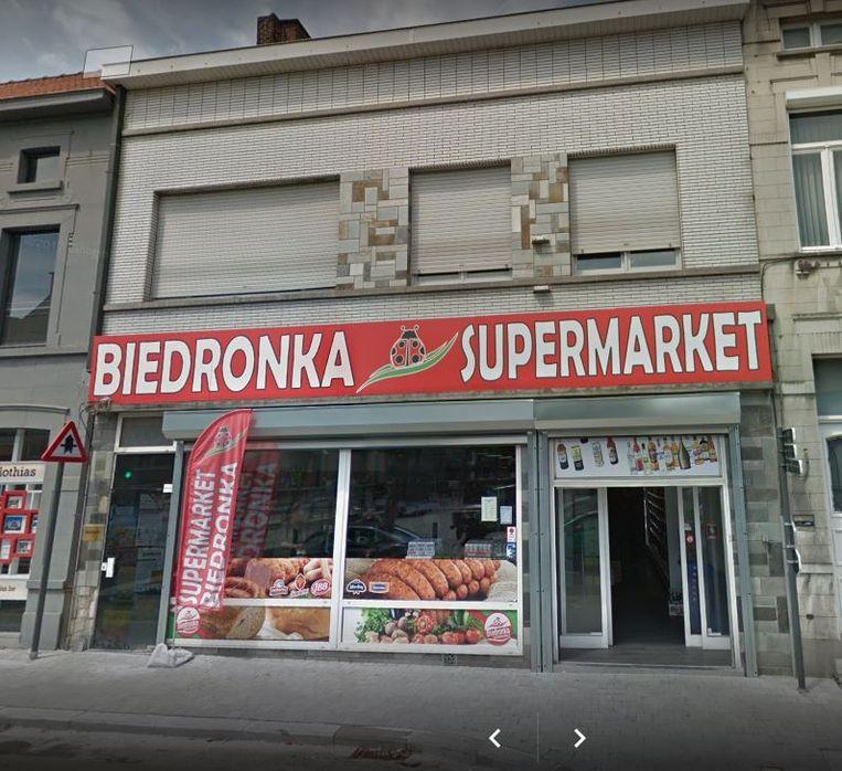 Een Poolse supermarkt aan het de Coninckplein.