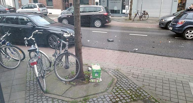 Ongeval op de Diestsesteenweg in Kessel-Lo.