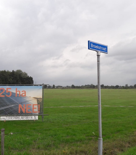 Megazonnepark Klarenbeek wordt dankzij buurtcomité Broekstraat minder mega