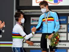 """Wout van Aert déçu de sa deuxième médaille d'argent en trois jours: """"Je cours pour gagner"""""""