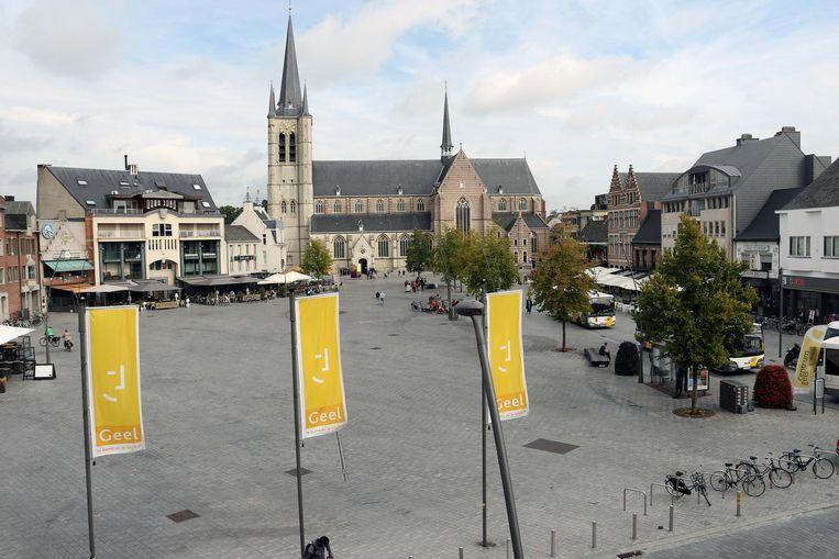De dinsdagmarkt vindt plaats op de Markt en Werft.