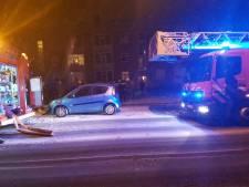 Brand in portiekflat in Almelo, meerdere woningen ontruimd