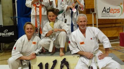 Jonge Lokeraars halen medaille op BK Karate