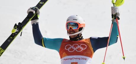 Kristoffersen faalt, Myhrer is oudste winnaar ooit bij alpineskiën