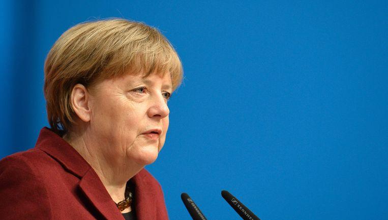 Bondskanselier Merkel Beeld afp