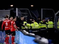 Onderzoek rellen FC Eindhoven - Helmond Sport duurt langer, in mei meer duidelijkheid