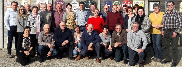 De Woumense cultuurgroep dankt zijn medewerkers