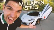 Vlaamse vlogger test 'McLaren voor het dagelijkse leven' uit en rijdt naar McDonald's