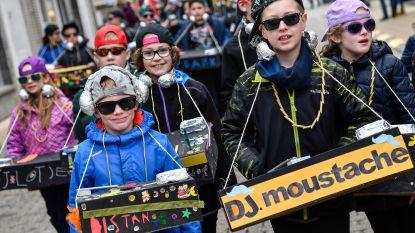 Leerlingen vieren carnaval in thema van muziek