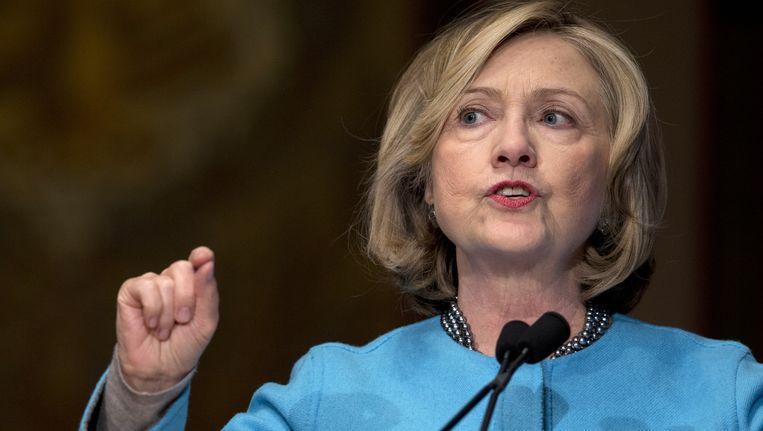Hillary Clinton is nog geen kandidate voor het presidentschap van de VS, maar heeft wel al haar campagneteam samengesteld.