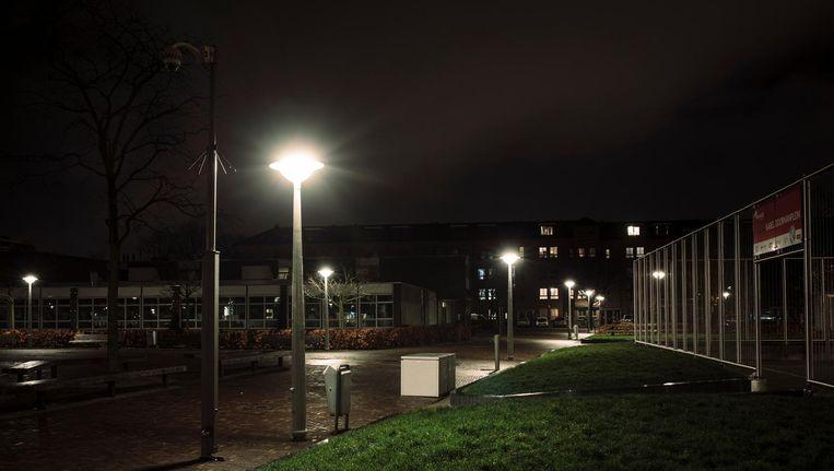 Het Karel Doormanplein was enkele jaren geleden het domein van de criminele groep. Beeld Marc Driessen