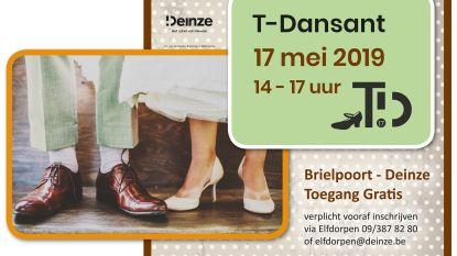 Senioren mogen hun danskunsten tonen tijdens T-Dansant TD17